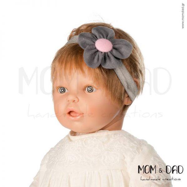Κορδέλα Μαλλιών για Μωρά - Mom & Dad 5701034