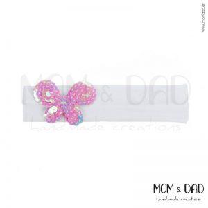 Κορδέλα Μαλλιών για Μωρά - Mom & Dad 5701042