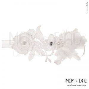 Κορδέλα Μαλλιών για Μωρά - Mom & Dad 57011479