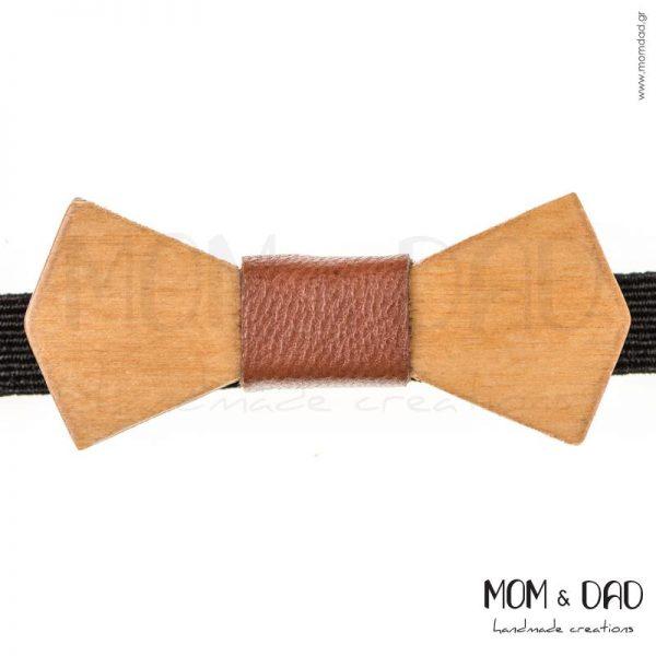 Ξύλινο Παπιγιόν για Mωρά έως 6 μηνών - Mom & Dad 43011171