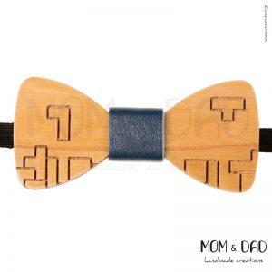 Ξύλινο Παπιγιόν για Αγόρι από 2 ετών - Mom & Dad 43011235