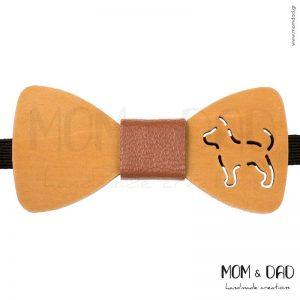 Ξύλινο Παπιγιόν για Αγόρι από 2 ετών - Mom & Dad 43011236