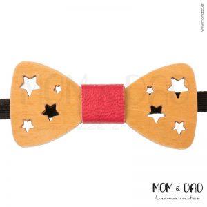 Ξύλινο Παπιγιόν για Αγόρι από 2 ετών - Mom & Dad 43011238