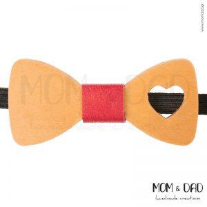 Ξύλινο Παπιγιόν για Αγόρι από 2 ετών - Mom & Dad 43011239