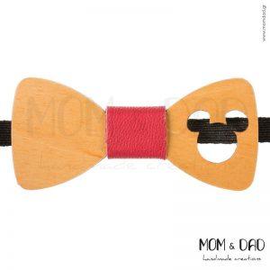 Ξύλινο Παπιγιόν για Αγόρι από 2 ετών - Mom & Dad 43011242