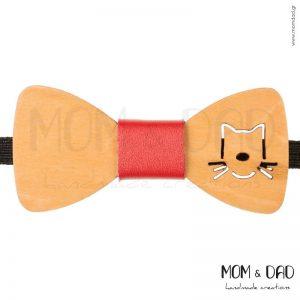 Ξύλινο Παπιγιόν για Αγόρι από 2 ετών - Mom & Dad 43011243