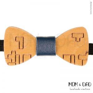 Ξύλινο Παπιγιόν για Mωρά έως 24 μηνών - Mom & Dad 43011249