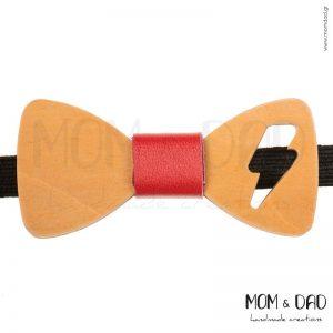 Ξύλινο Παπιγιόν για Mωρά έως 24 μηνών - Mom & Dad 43011254