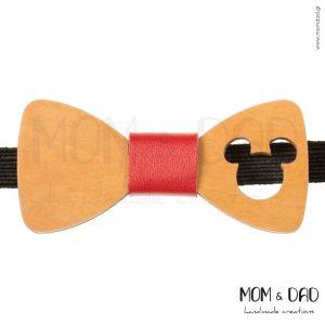 Ξύλινο Παπιγιόν για Mωρά έως 24 μηνών - Mom & Dad 43011256
