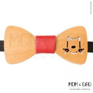 Ξύλινο Παπιγιόν για Mωρά έως 24 μηνών - Mom & Dad 43011257