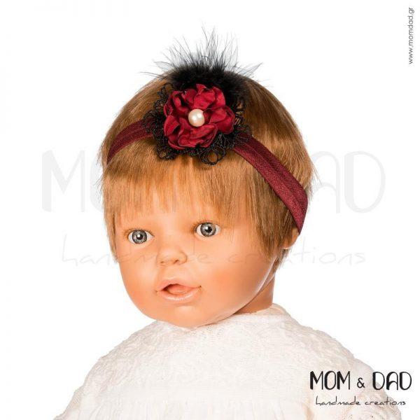 Κορδέλα Μαλλιών για Μωρά - Mom & Dad 57011549