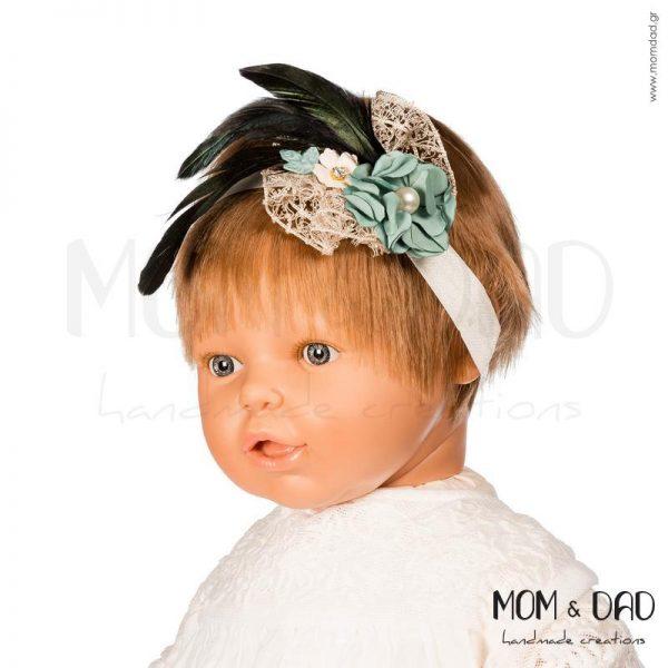 Κορδέλα Μαλλιών για Μωρά - Mom & Dad 57011552