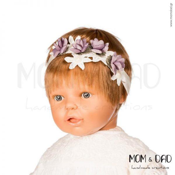 Κορδέλα Μαλλιών για Μωρά - Mom & Dad 57011554