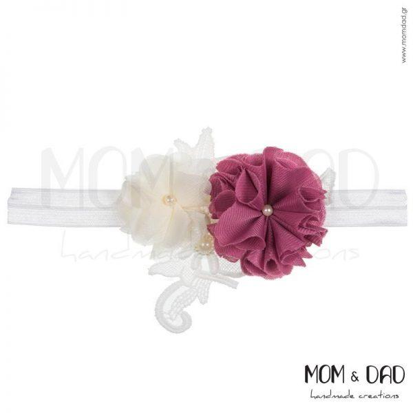 Κορδέλα Μαλλιών για Μωρά - Mom & Dad 57011555