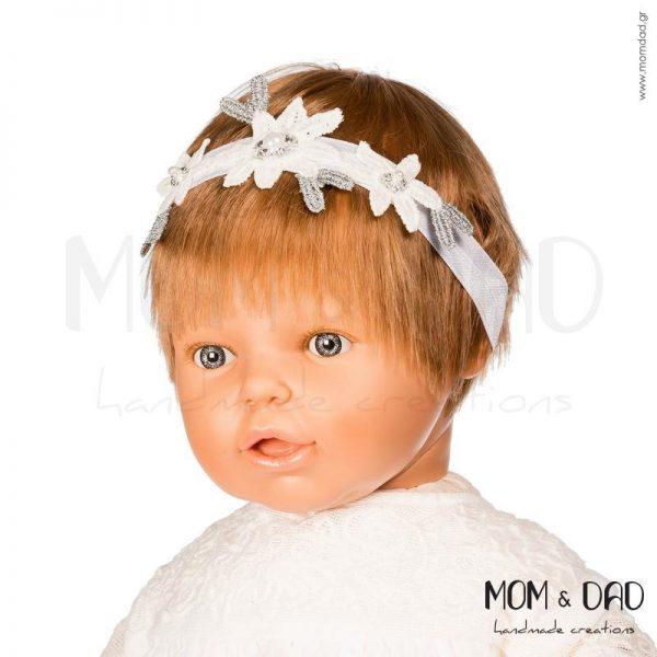 Κορδέλα Μαλλιών για Μωρά - Mom & Dad 57011564