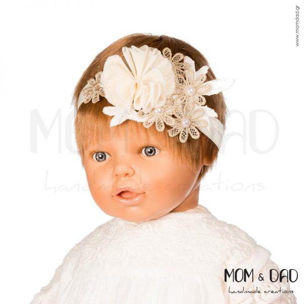 Κορδέλα Μαλλιών για Μωρά - Mom & Dad 57011568